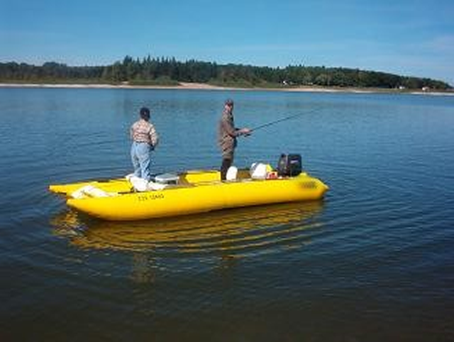 Seawolf inflatable boats for Rubber boats for fishing